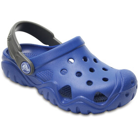 Crocs Swiftwater Clogs Kinder blue jean/slate grey